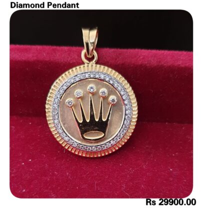 diamond pendent for girls